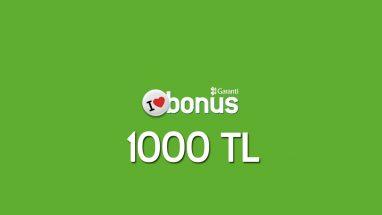 Bonus Kart Çekilişi 1000 TL Kazanma Fırsatı