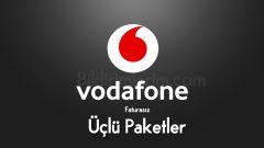 Vodafone Faturasız 3'Lü Paketler – Tarifeler
