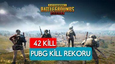 Pubg Mobile Kill Rekoru 42 kişiye karşı tek başına