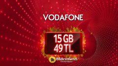 Sonbaharın keyfini 15 GB'la Vodafone Red'liler çıkarır