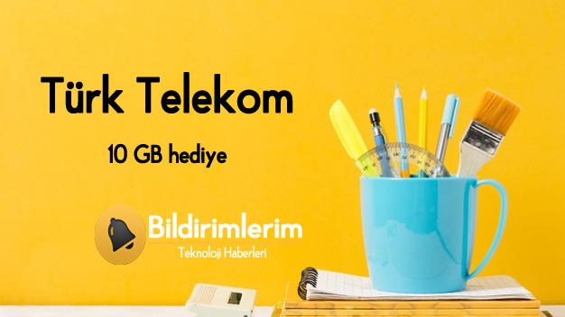Türk Telekom 10 GB