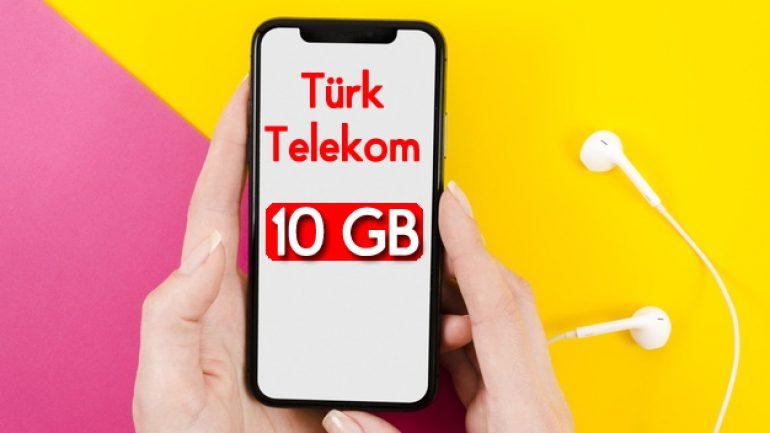 Türk Telekom Tamamla 10 GB internet 15 TL