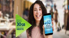 Katılanlara Türk Telekom 30 GB Bedava internet