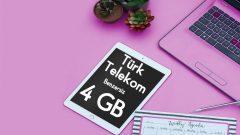 Türk Telekom Benzersiz 4 GB Tarifesi