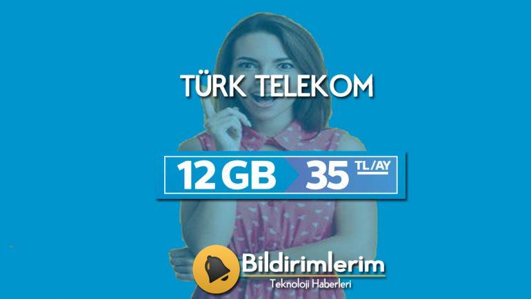 Türk Telekom Efsane 12 Tarifesi Nasıl Yapılır?