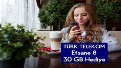 Türk Telekom Efsane 8 Tarifesi Sadece 29 TL