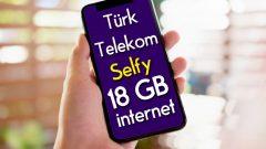 Gençlere Özel Türk Telekom Selfy Sosyal XLarge Tarifesi