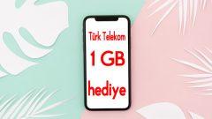 Gençler için Türk Telekom Selfy 1 GB Bedava internet