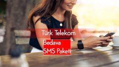Türk Telekom Bedava SMS – Mesaj Paketi