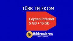Fatura Dostu Türk Telekom Ek 5 GB internet 15 TL