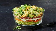 Diyet Yapanlara Özel Tok Tutan Salata