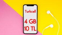 Turkcell Rahat Hadi İzle Haftalık 4 GB internet 10 TL
