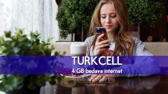 Kampanyada Son Gün Turkcell 4 GB Bedava internet SİM