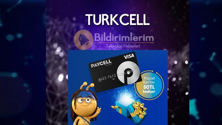 Turkcell Fiber'de Paycell Kart'a Özel 50 TL hediye