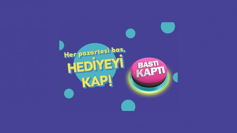 Turkcell Bastı Kaptı Kampanyası