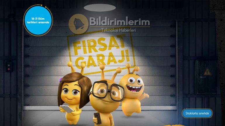 Turkcell Fırsat Garajı Ekim avantajları