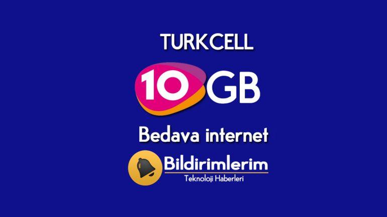 Gençler için Turkcell GNÇ Çatlat Bedava internet