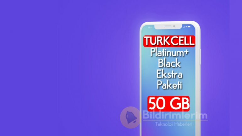 50 GB Turkcell Platinum Black Ekstra Paketi nasıl yapılır