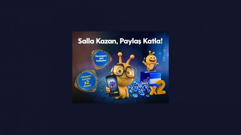 Turkcell Salla Kazan Ramazana Özel Bedava internet ve Dakika