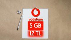 Vodafone 1 Gün geçerli 5 GB internet