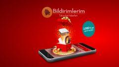 Vodafone'dan 2000 TL'ye varan hediye