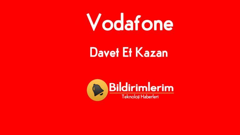 Vodafone Yanımda Davet Et Kazan 9 GB Bedava internet