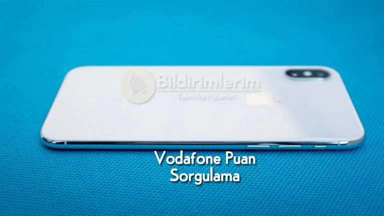 Vodafone Puan Sorgulama Telefon: Cihaz Kampanyası