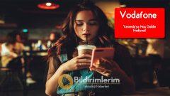 Vodafone Bedava internet Yanımda'ya Hoş Geldin 5 GB Hediyesi