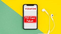 Vodafone Doldur 750 Gani Paketi 30 GB internet 12 TL