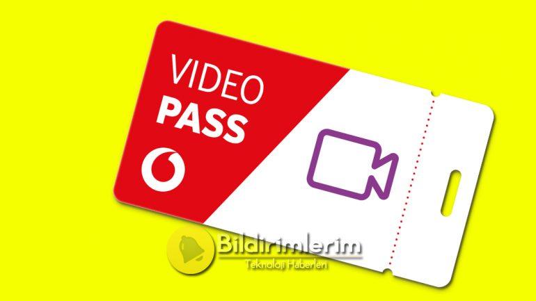 Vodafone Video Pass Youtube Sınırsız internet