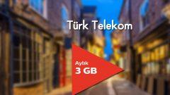 Eğitimciler 3 GB Tarifesi Türk Telekom'da