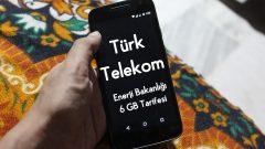 Türk Telekom Enerji Bakanlığı 6 GB Tarifesi 1 GB Bedava internet