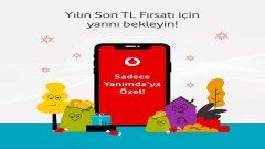 Vodafone Yılın Son Fırsatı ile Bedava internet alın